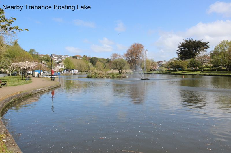 Nearby Trenance Boating Lake