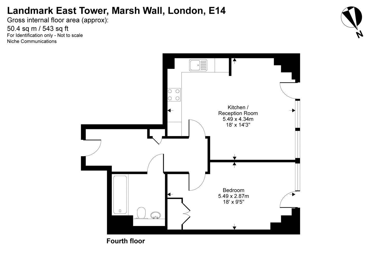 Landmark East Tower Marsh Wall