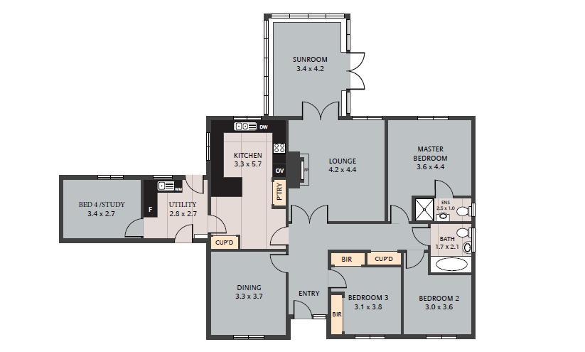 Adams Way Floorplan