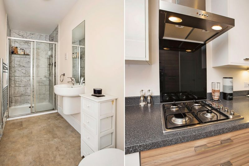en-suite/kitchen