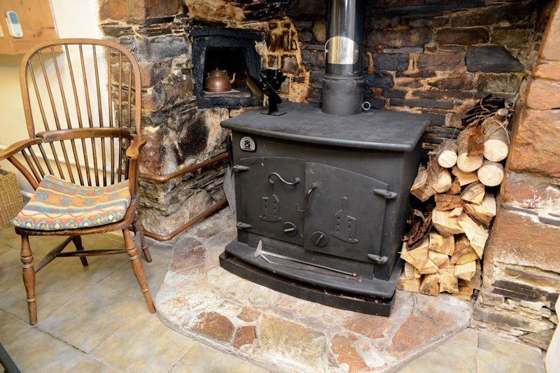 Wood burner and freplace