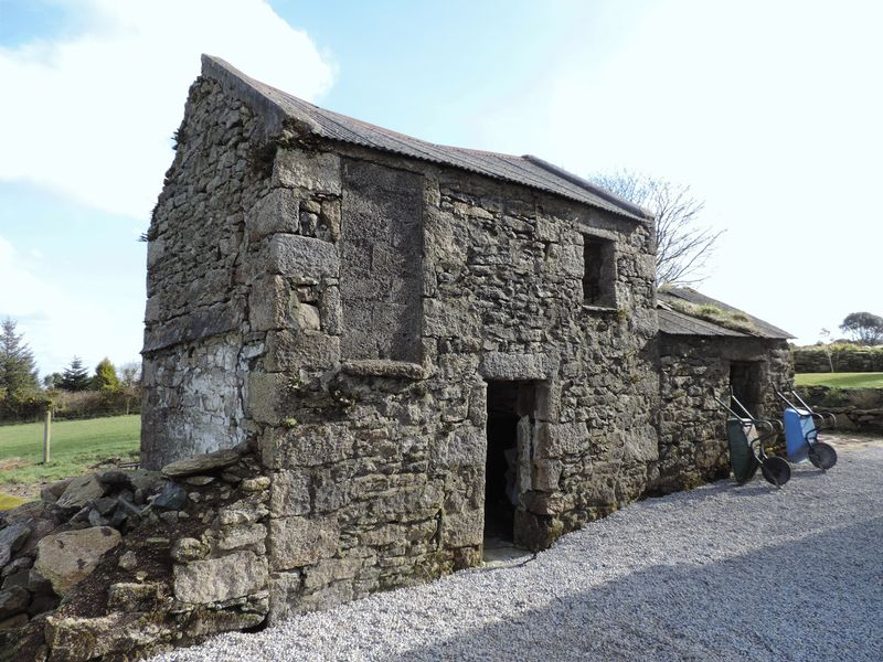 Barn with planning to convert to holiday let