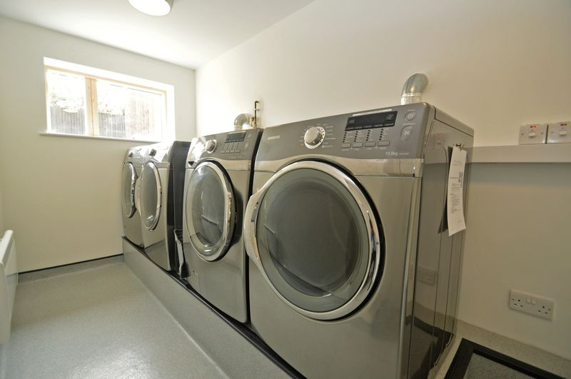 Residents laundry