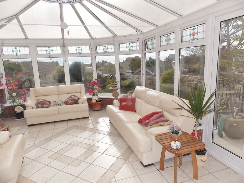 Conservatory with Sea Views
