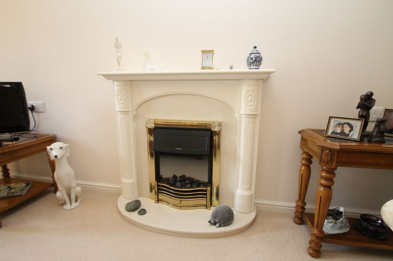 Feature electric Fire place