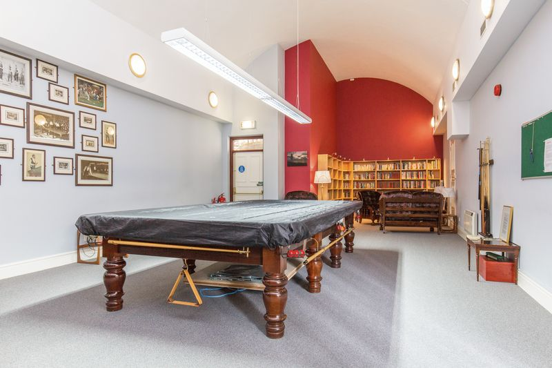 Communal Library/ Pool Room