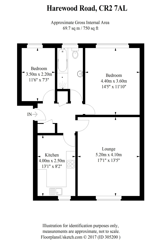 Harewood Road South CroydonHarewood Road South Croydon Folklands – Harewood House Floor Plan