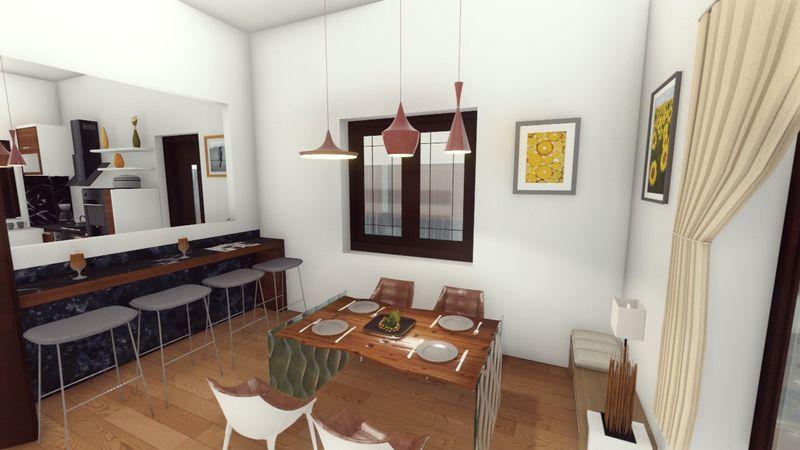 Breakfast Bar / Dining Room