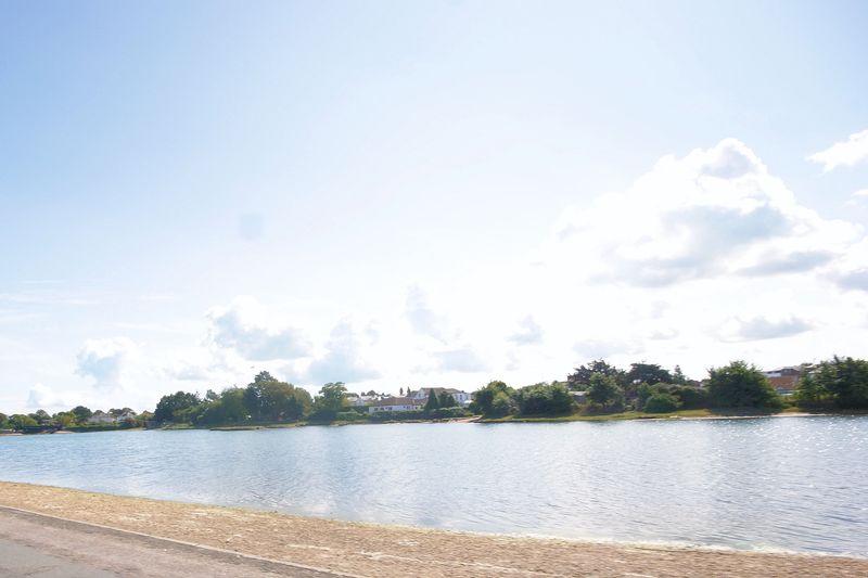 Lake at end of road