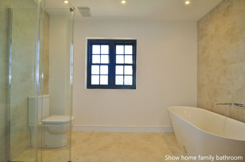 Show home family bathroom
