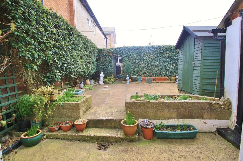 Garden Leading To Workshop