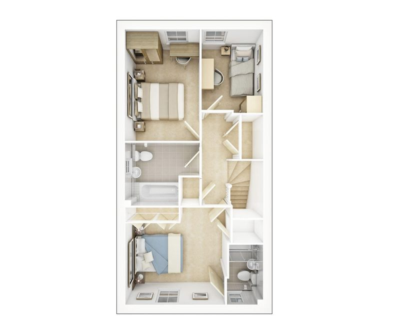 Life Style  First Floor Plan