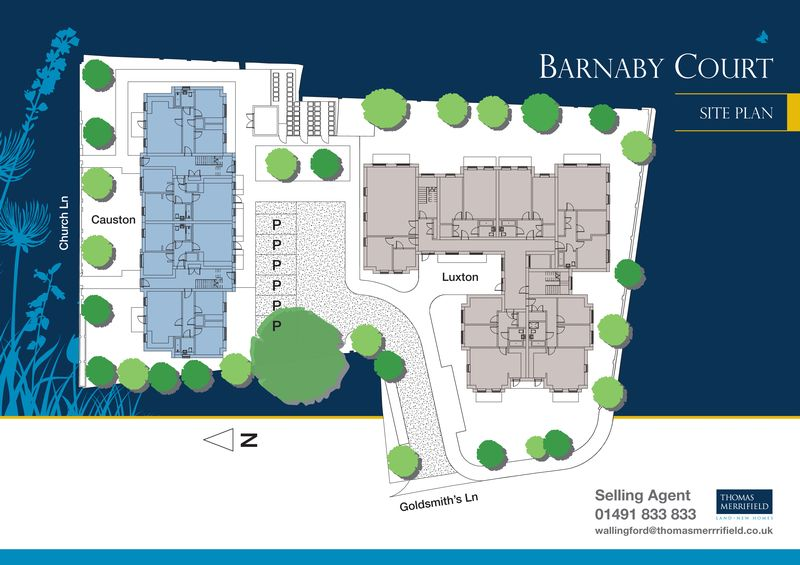 Barnaby Court Site Plan