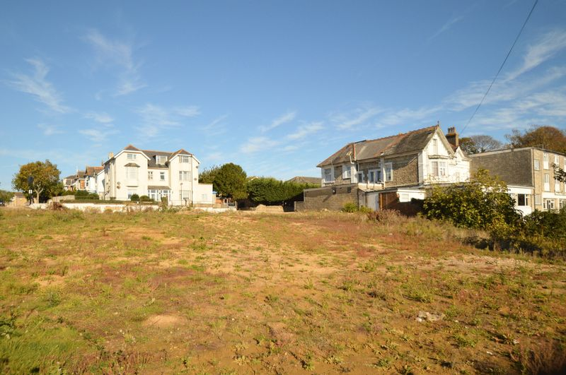 Site (Looking Towards Beachfield Road)