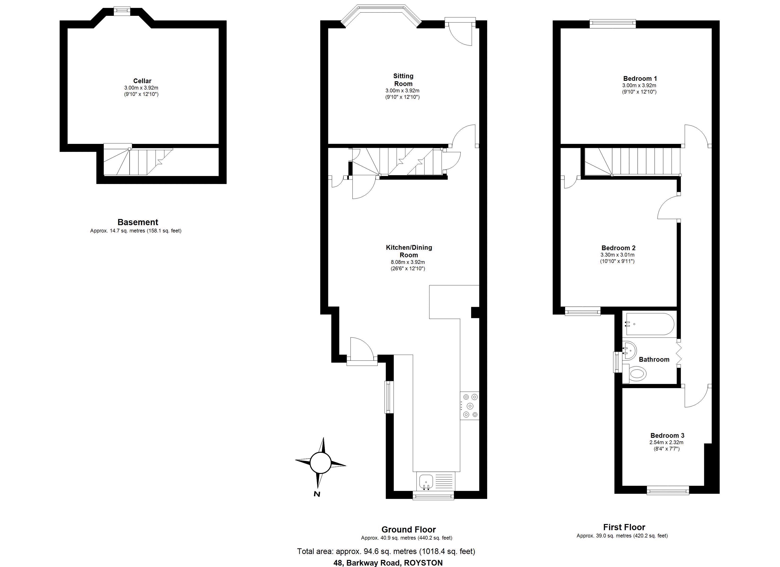 48 Barkway Road Floorplan