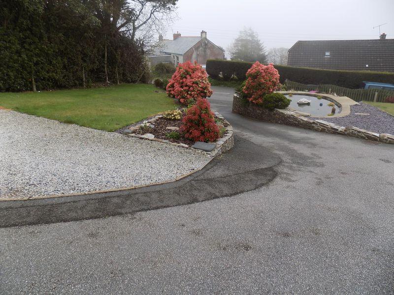 Entrance Drive and Garden