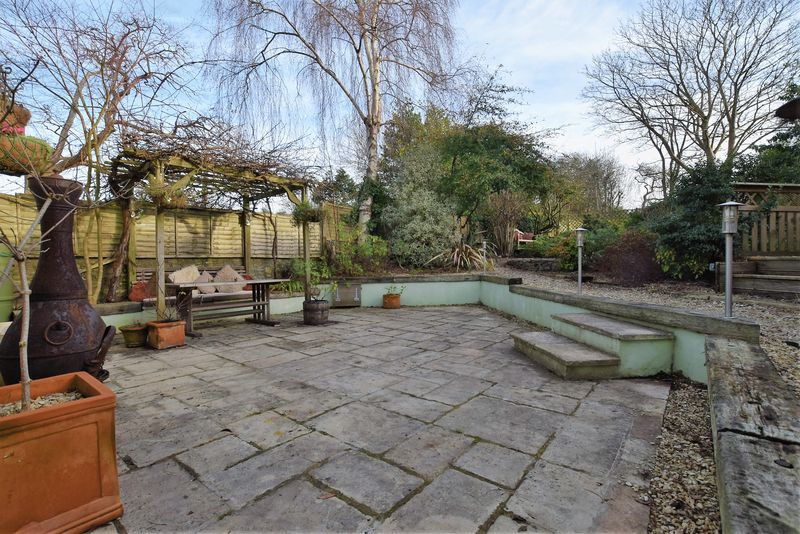 Rear garden Main Patio Area