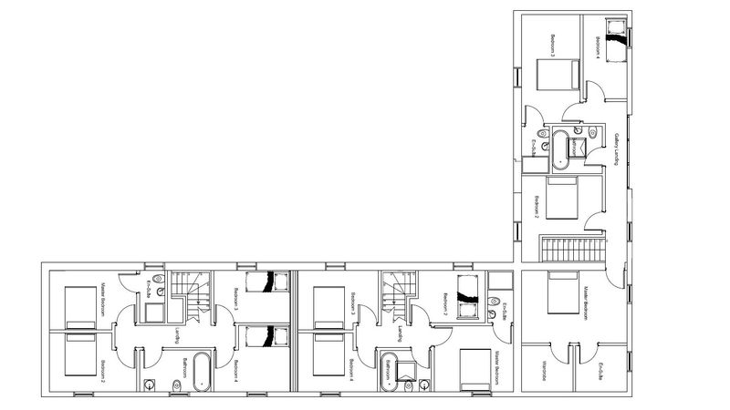 Proposed Barn first floor plan