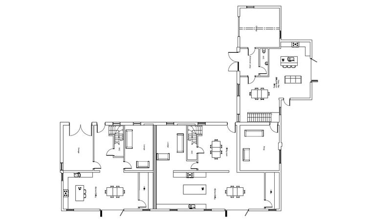 Proposed Barn ground floor plan