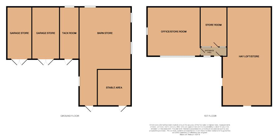 Coach House Barn Floorplan