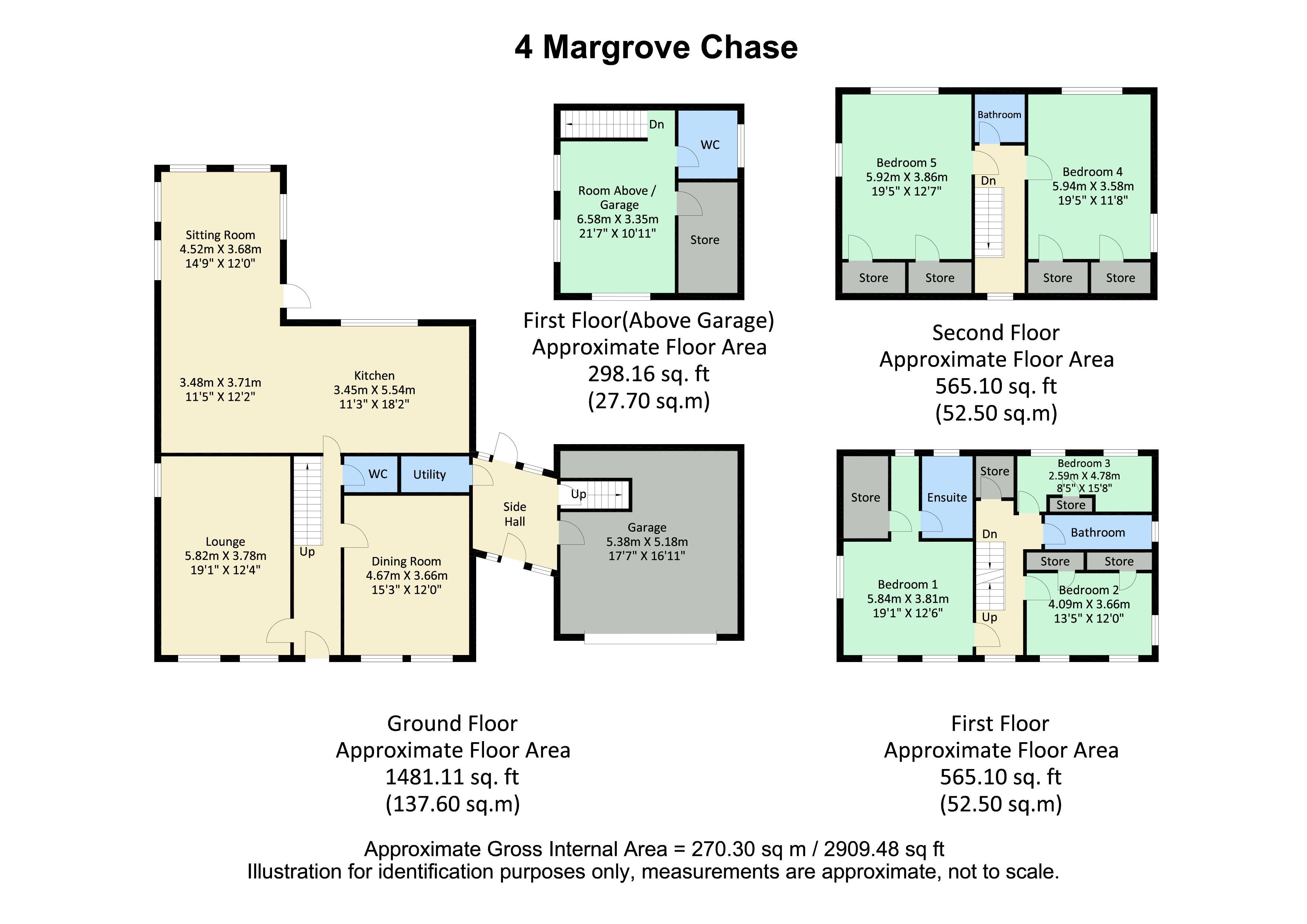 4 Margrove Chase