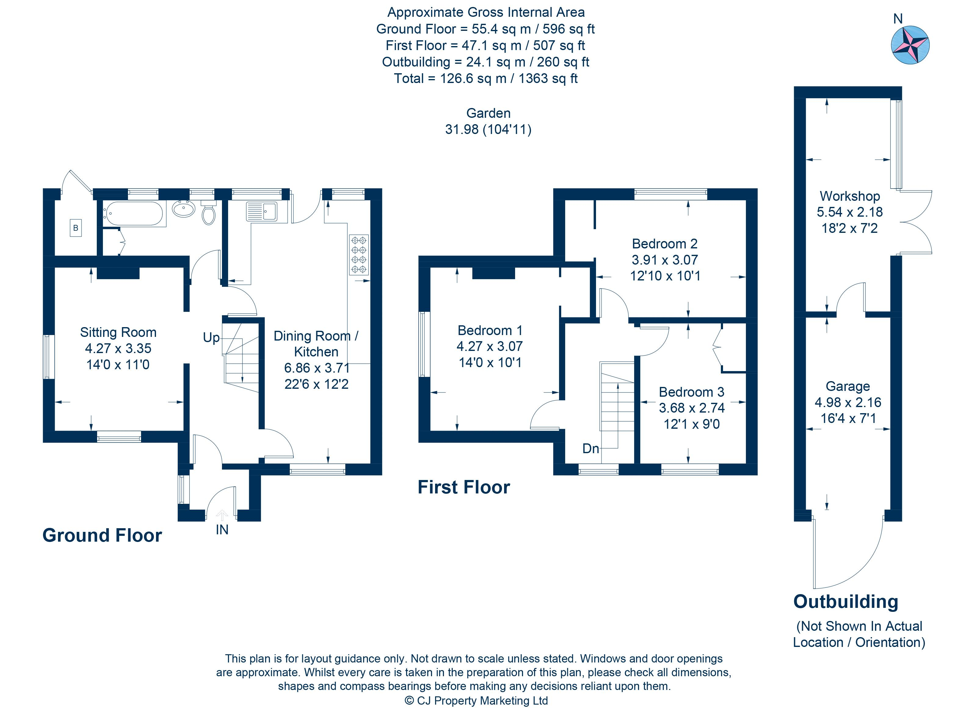 17 Oxford Lane Floorplan