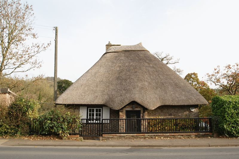 Cottage from road