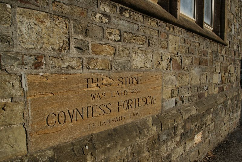 Foundation stone feature