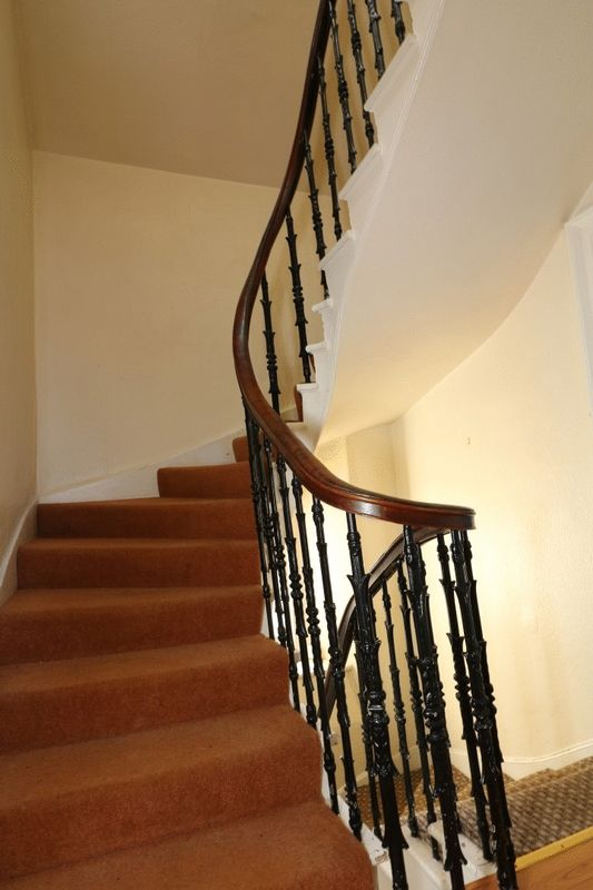 Wrought Iron Spindles to  2nd Floor