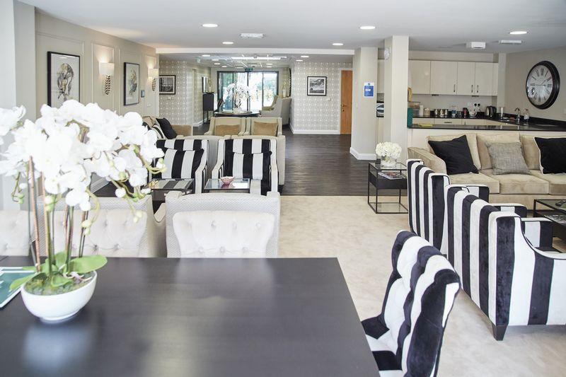 Communal lounge and kitchen