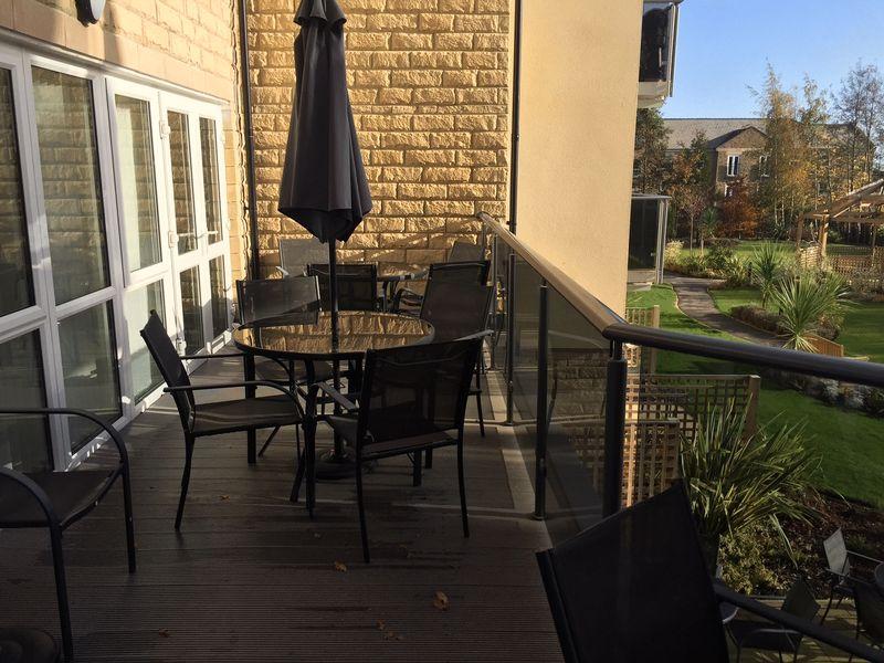 Communal Lounge Balcony