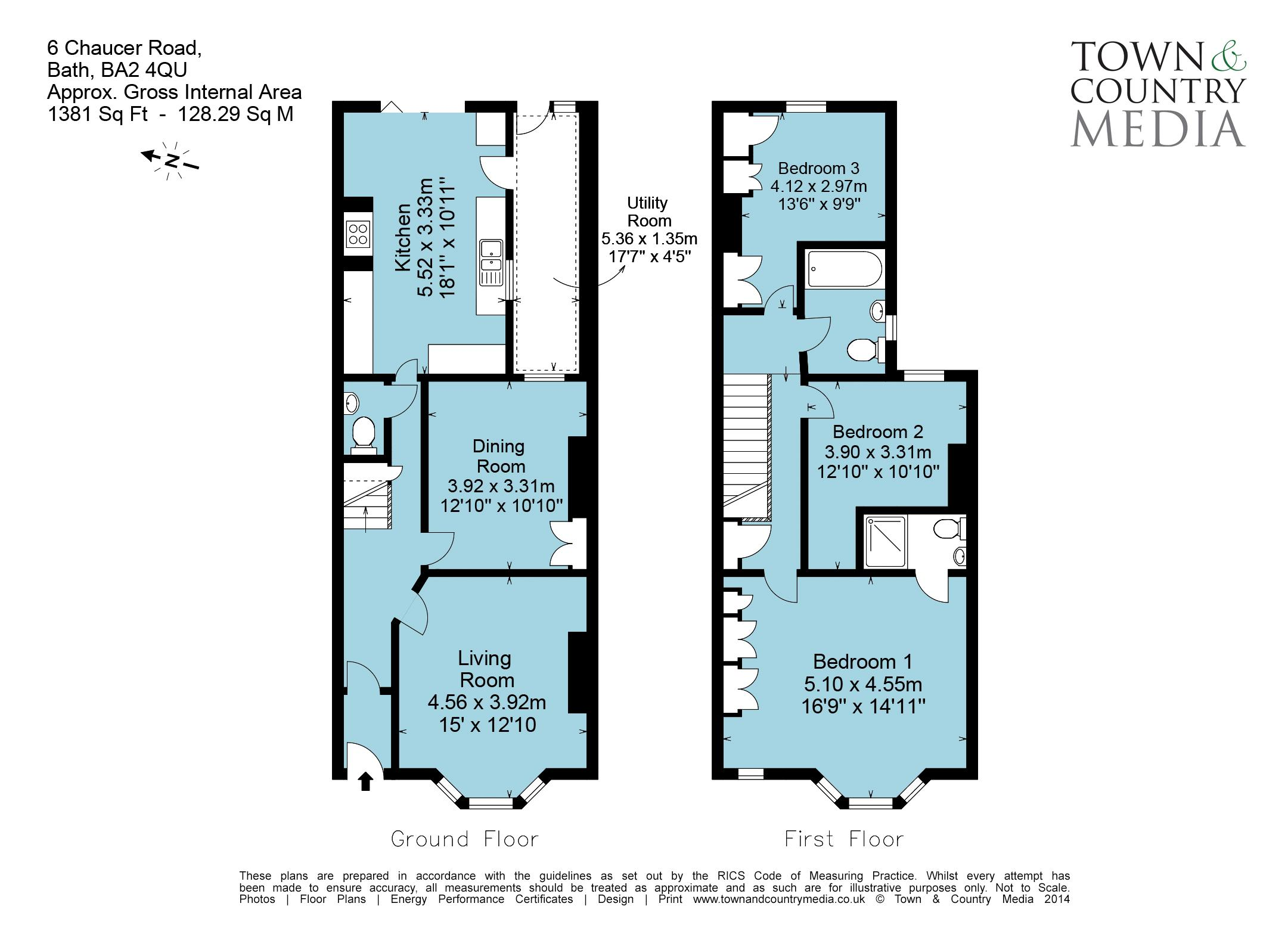 Floor Plan Chaucer Road
