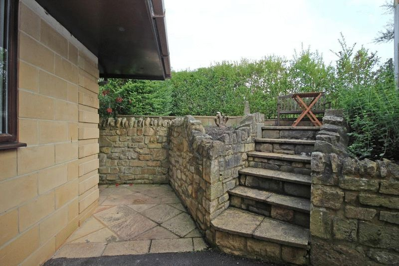 Steps to Private Patio Area
