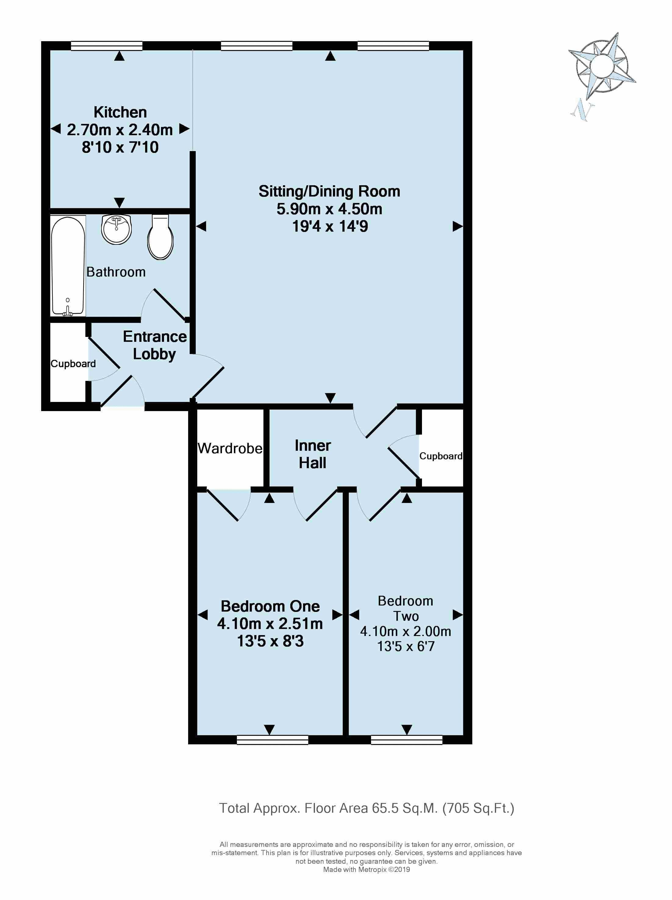 13CC-F2 - Floorplan