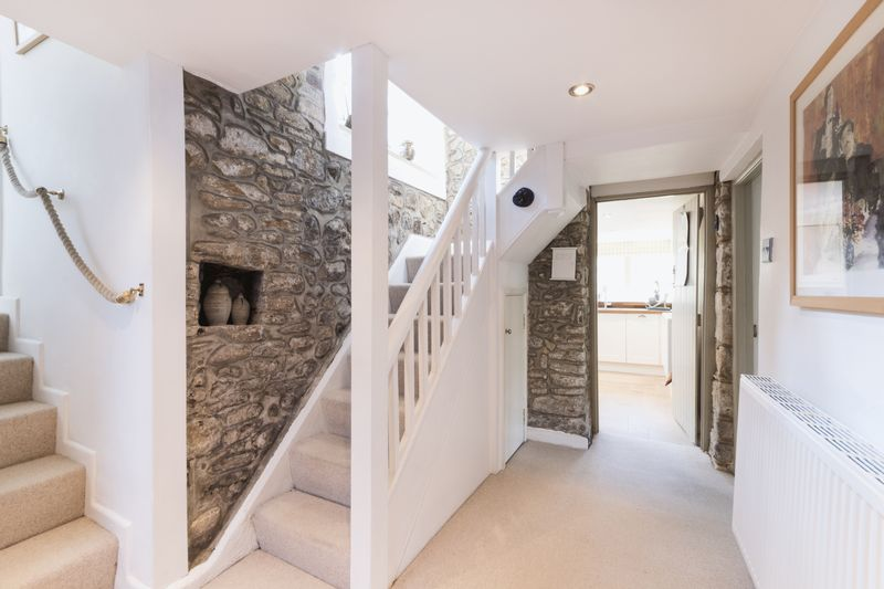 Internal Hall with Exposed Stone Walls