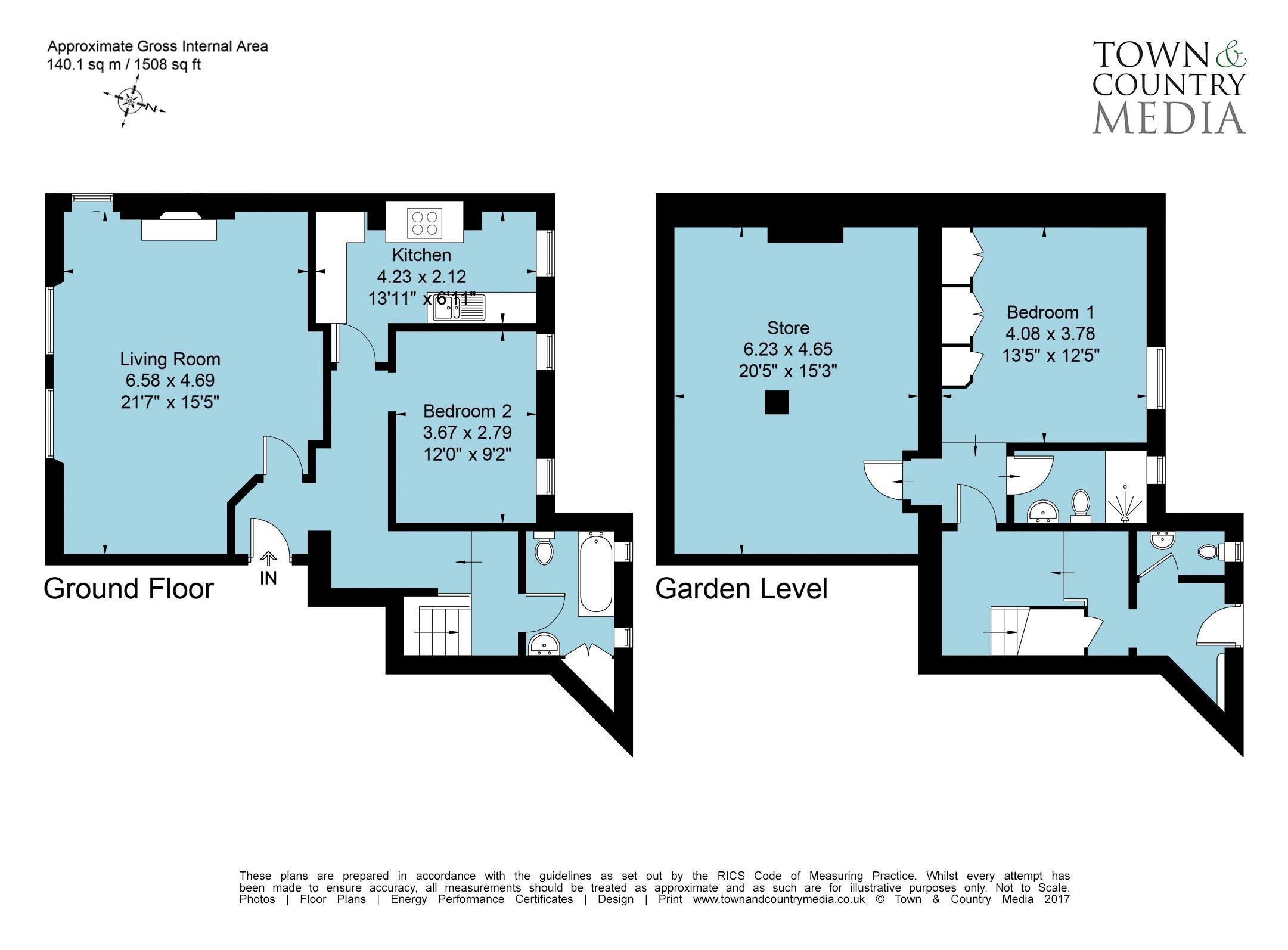 2AH-BL - Floorplan