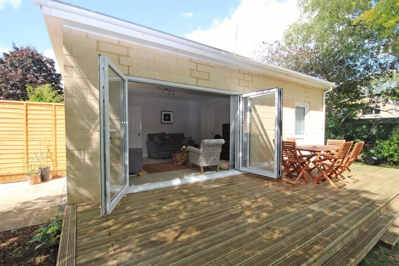 Deck & Tri-Fold Doors to Reception 2