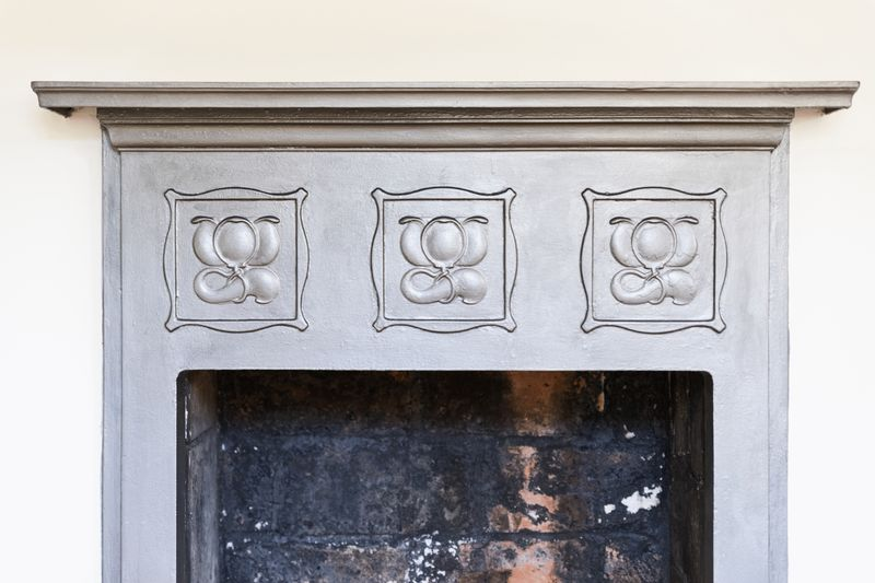 Period Cast Iron Fireplace