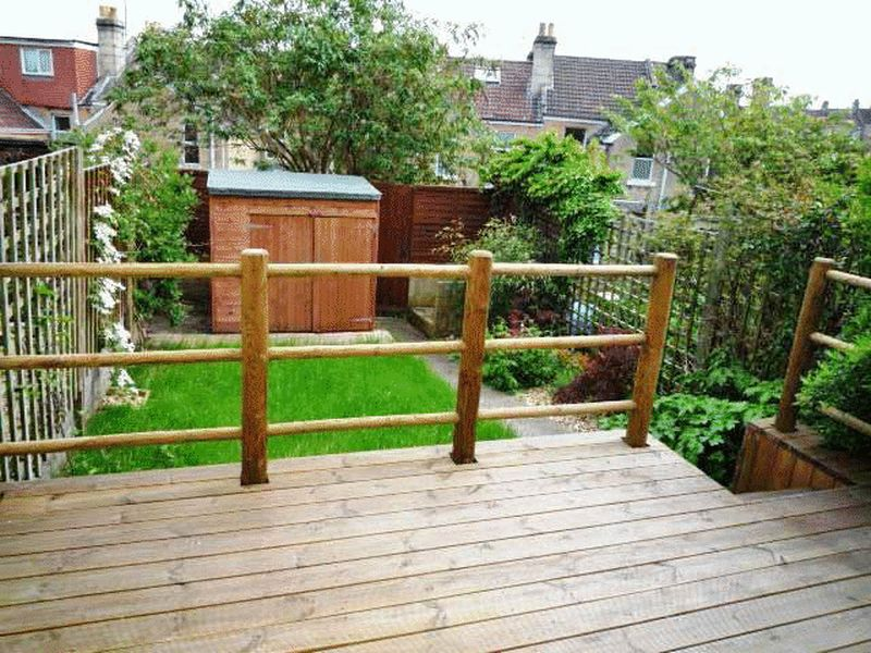 Decked Area to Rear Garden