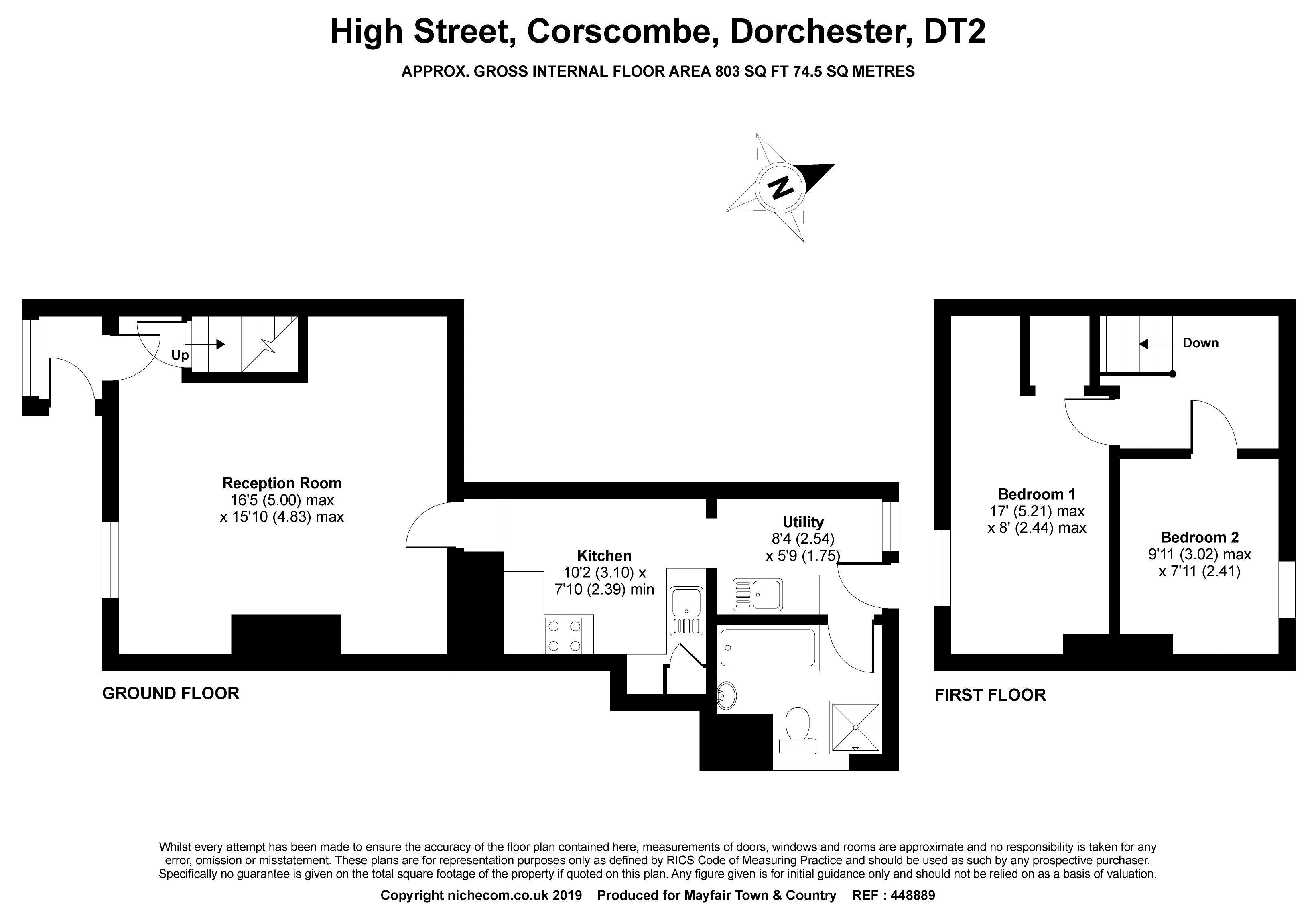 High Street Corscombe