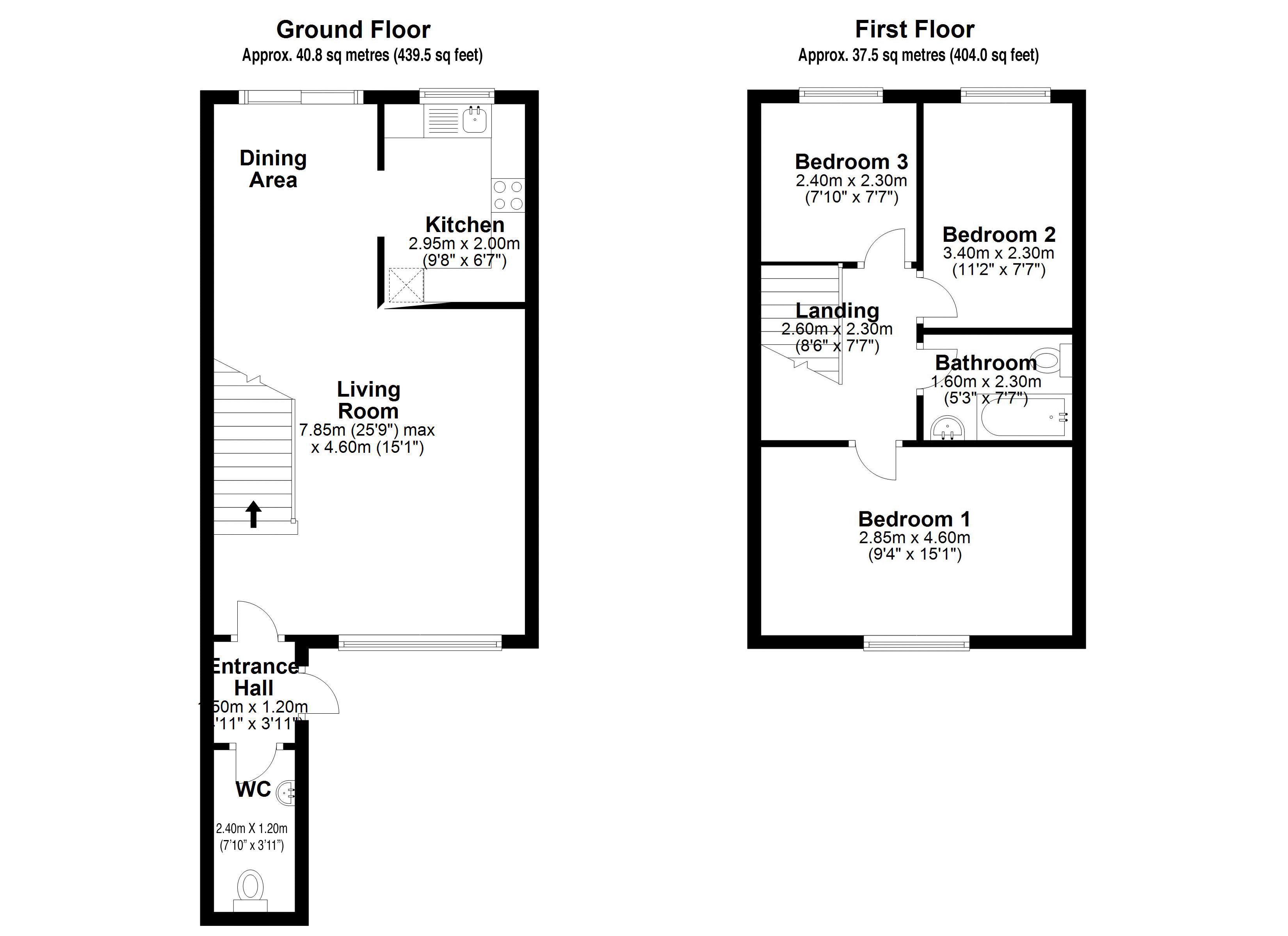 Snowdon Drive Floorplan