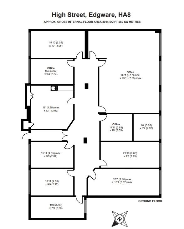 Elizabeth House Floor Plan