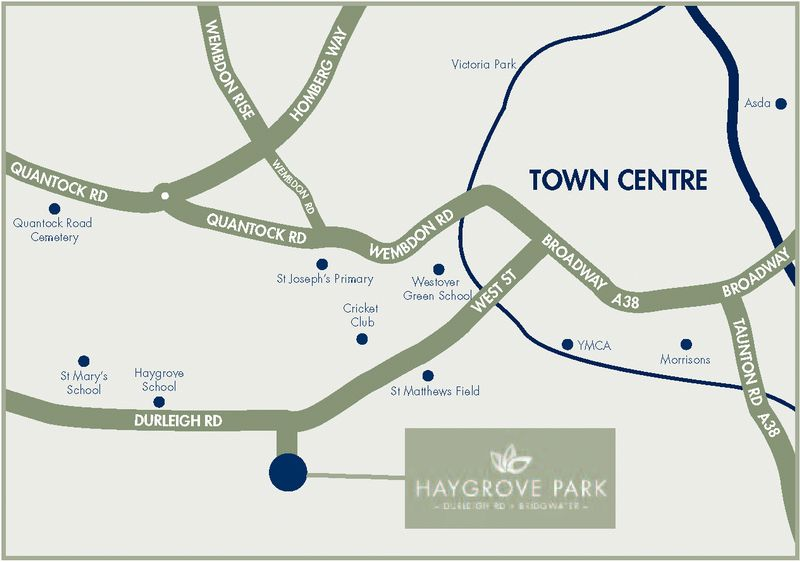 Haygrove Park - Location Map