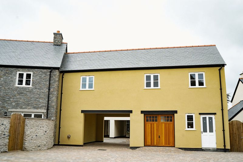 Rear elevation of plots 3 and 4