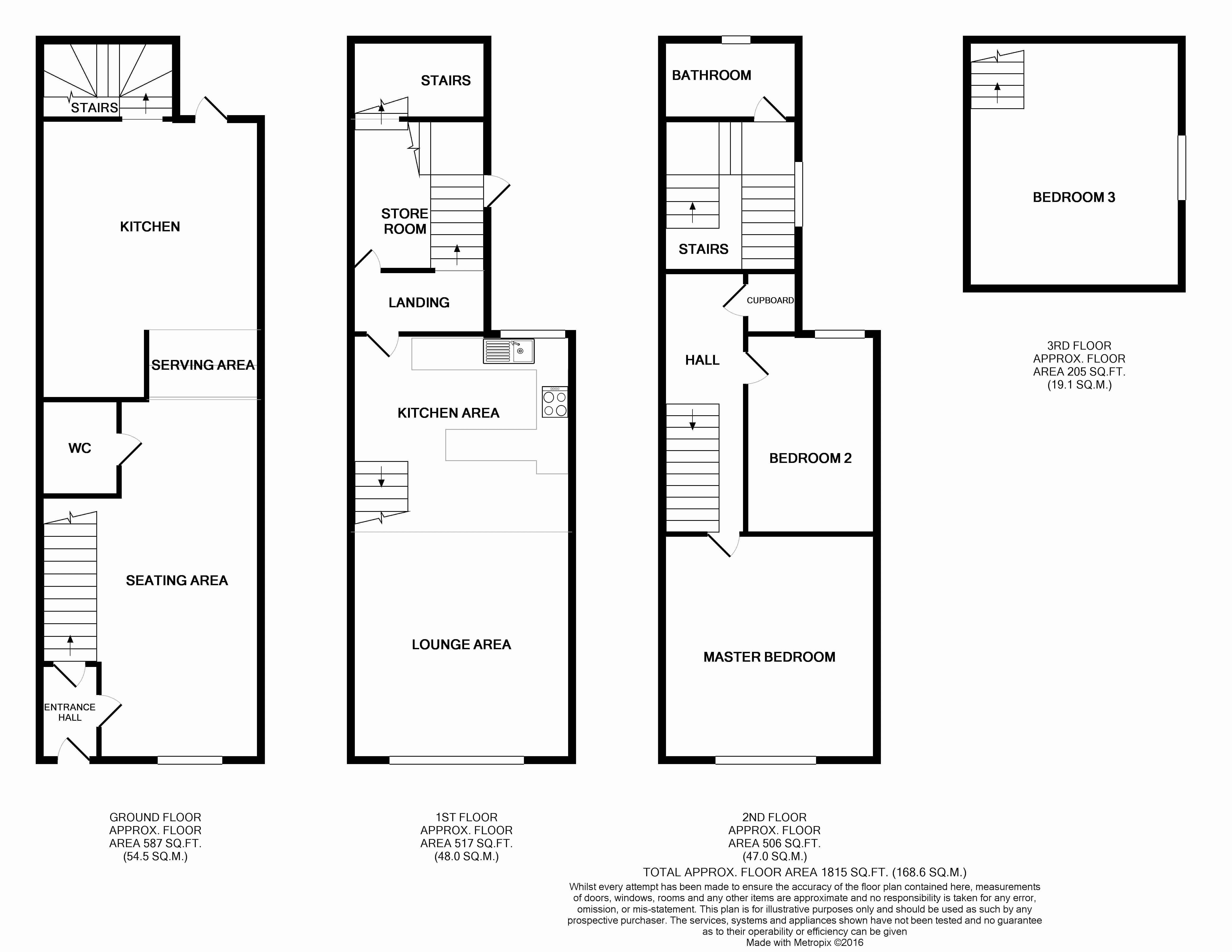 19 Bridgeland Street Floor Plan