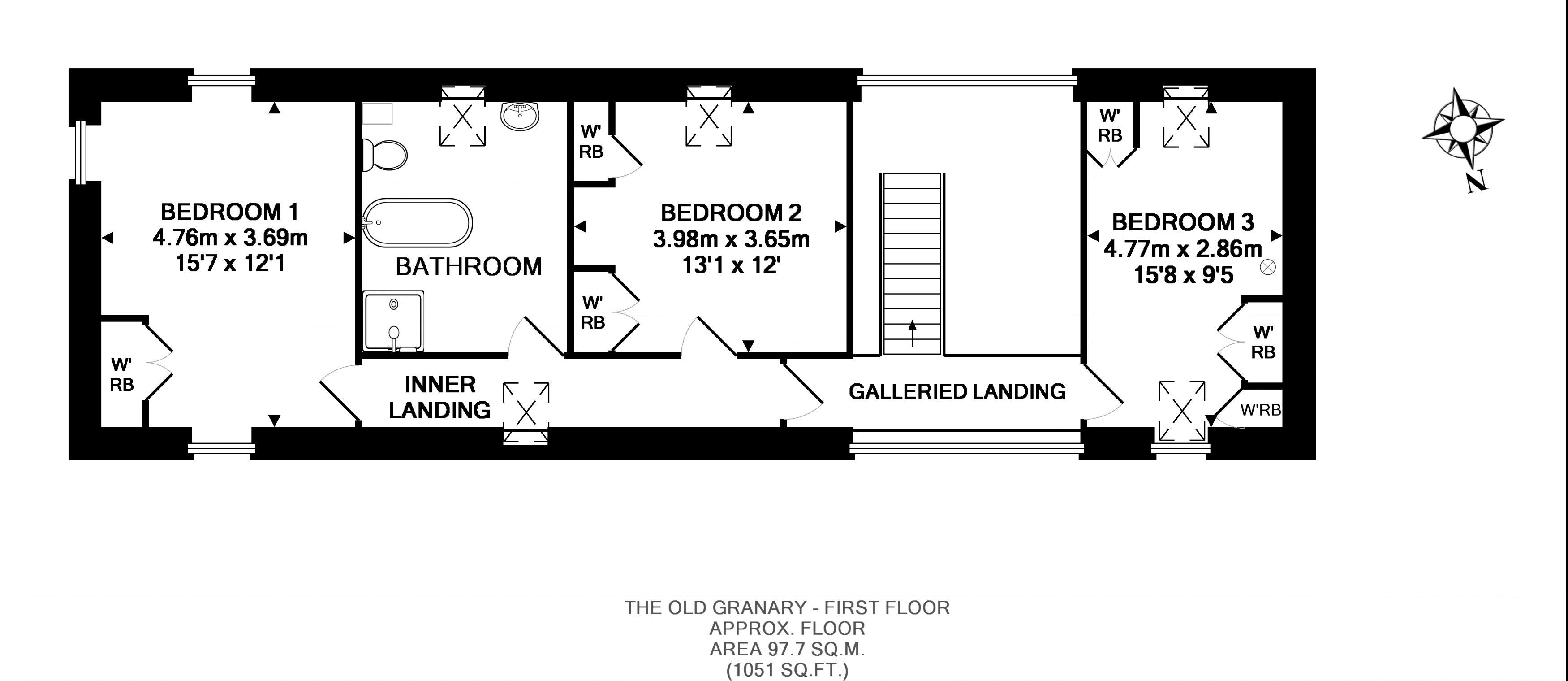 FLOORPLAN: The Old Granary - First Floor