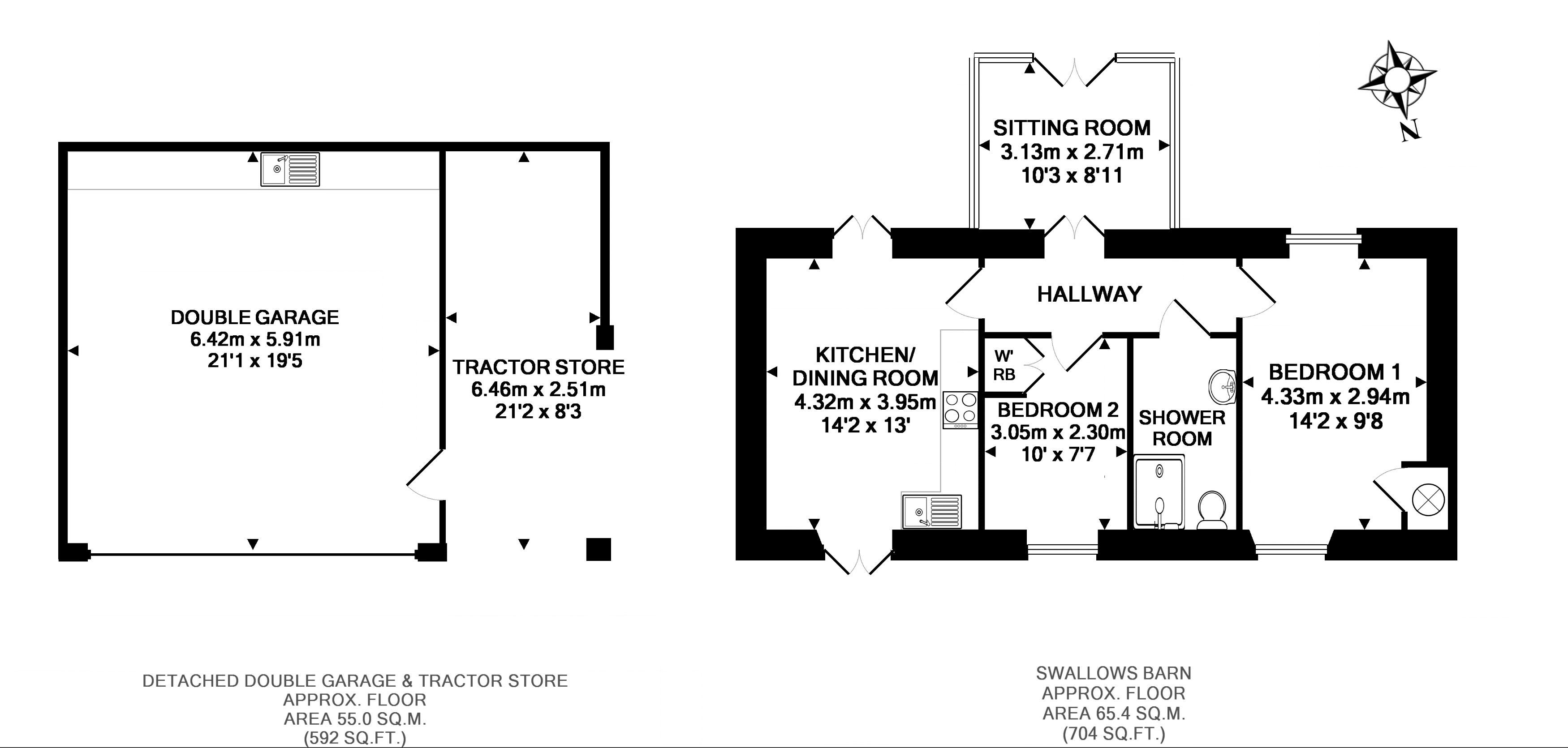 FLOORPLAN: Swallows Barn & Tractor Store