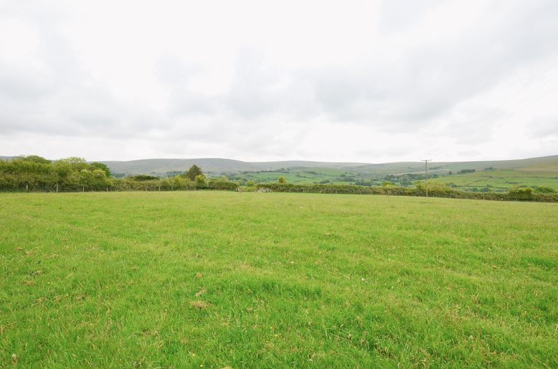 Glorious views of Dartmoor from your land