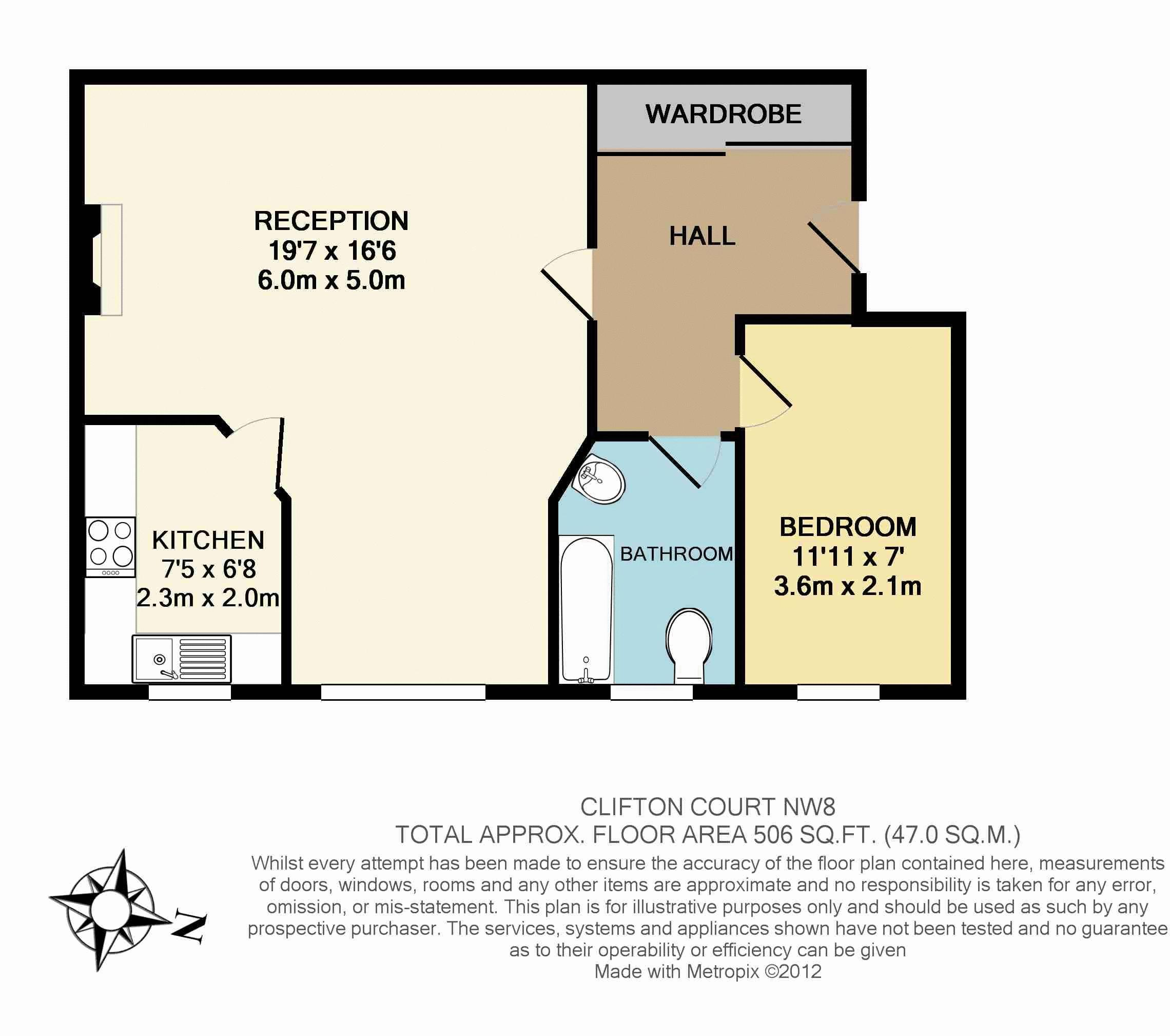 Clifton court northwick terrace st johns wood houghton for 11 brunel crt floor plan