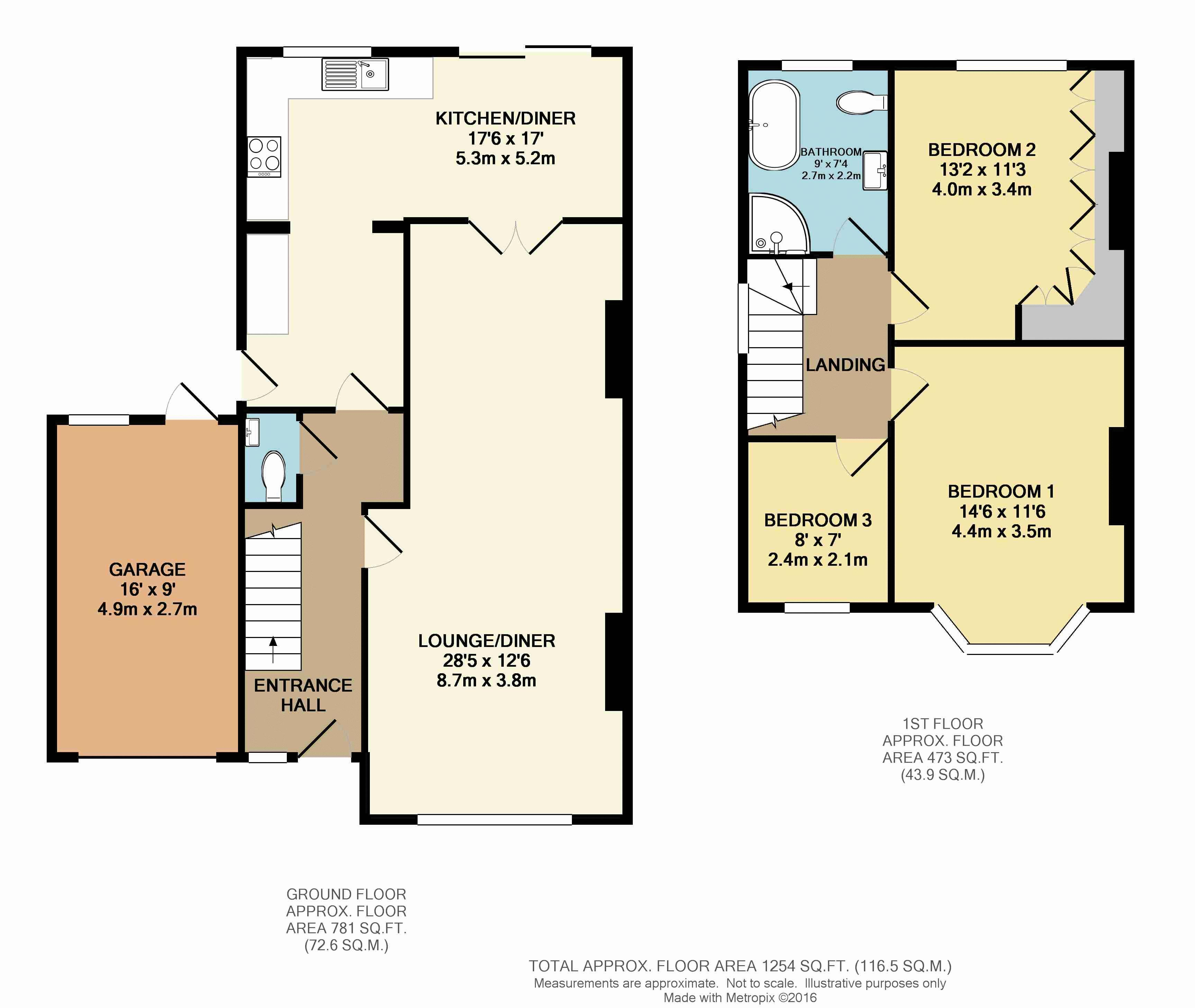 Green lane west purley frost estate agents in purley for Floor plans for estate agents